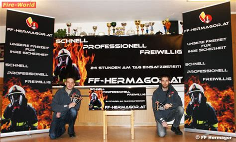 Feuerwehr Aufkleber Transparent by Ktn Feuerwehr Hermagor Pr 228 Sentiert Sich Im Neuen Design