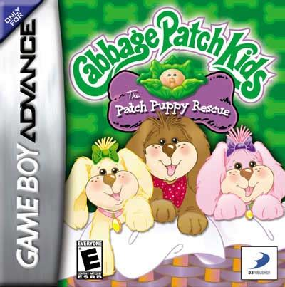 cabbage patch kids patch puppy rescue nintendo game boy