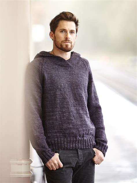 pattern hooded cardigan clifton knit this mens stocking stitch hooded sweater