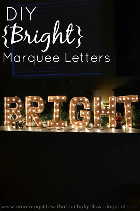 tutorial html marquee a mommy s life with a touch of yellow diy bright