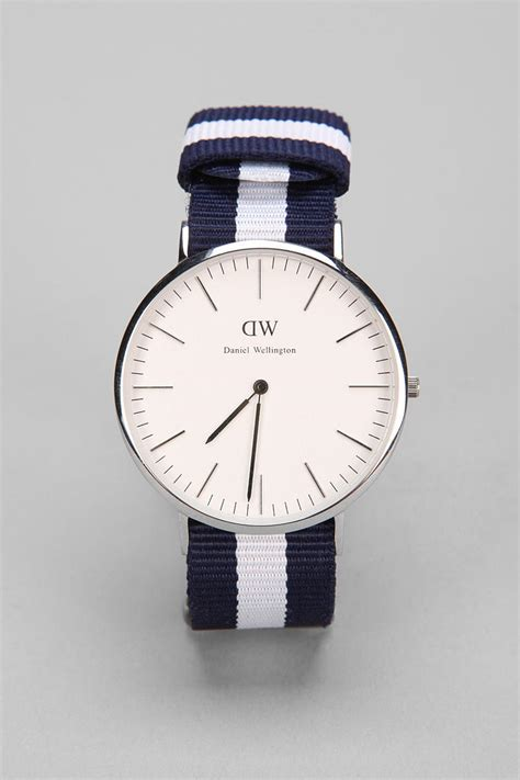 watches for lyst daniel wellington glasgow watch in blue for men