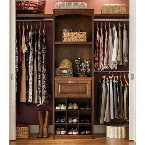 Allen Roth Closet Organizer by Lowes Allen Roth 8 Ft Wood Closet Kit Sliding