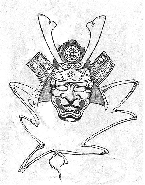 traditional japanese samurai tattoo designs trad samurai mask by antsa00 on deviantart