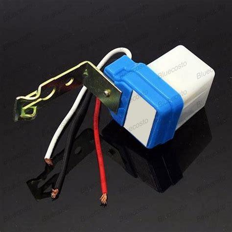Automatic Light Sensor Outdoor Outdoor Light Sensor L Automatic Switch Auto Operated 10a 220v Ebay
