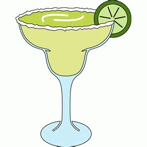 margarita glasses clipart margarita glass clip clipartandscrap