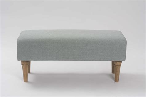 bench face bellagio upholstered bench 100cm pr home