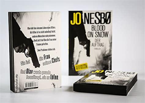 libro blood on snow libro blood on snow 01 der auftrag di jo nesb 248