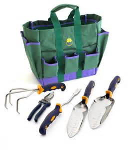5 pc garden tool set w free garden bag garden tools by