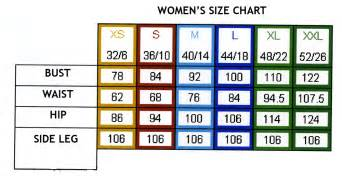Size Of Measurements And Sizesheets Fashion Freaks