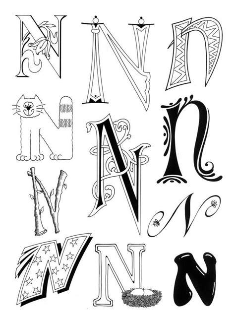 Pochoir Lettre 919 by Dibujo Para Imprimir Figuras Y Formas Alfabeto Letra