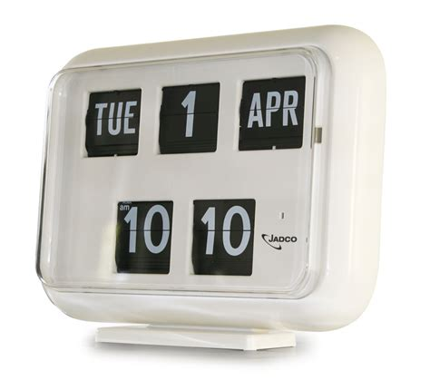 Calendar Clock Jadco Time Digital Calendar Clock Option Of 12 Or 24hr