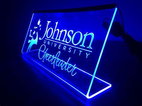 led acrylic edge lighting laser engraved led edge lit acrylic sign cook s