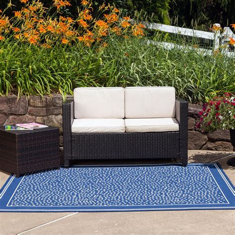 Amazon Com Budge Twilight Outdoor Patio Rug Rug810gy5 Outdoor Rugs For Patio