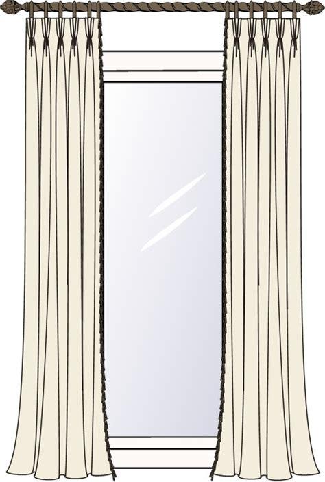 custom made drapery panels custom pinch pleat drapery panels using your fabric up to