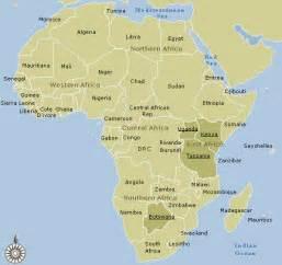 Tanzania Africa Map by Tanzania Map And Tanzania Satellite Images