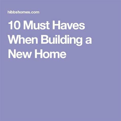 must haves when building a new home best 25 building a new home ideas on pinterest