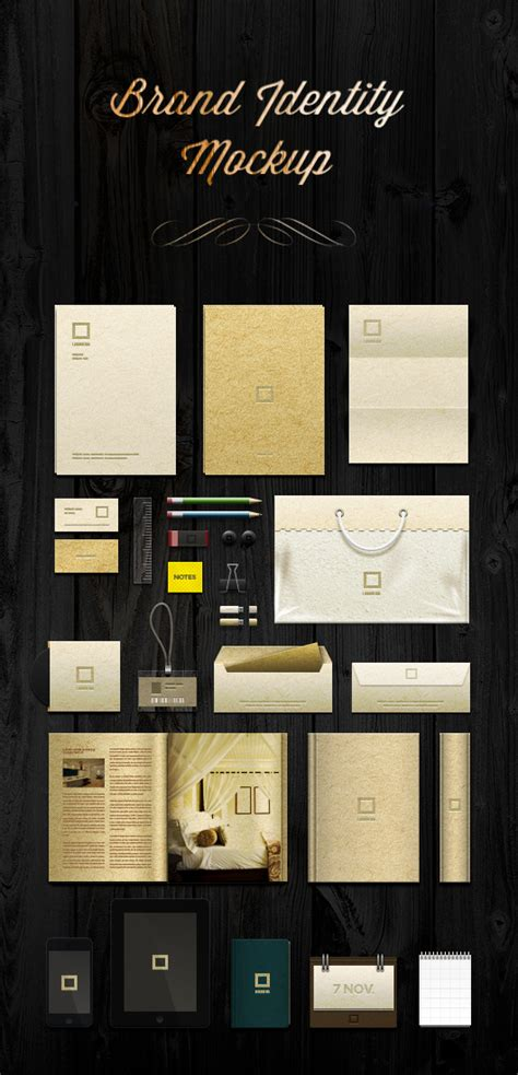 mockup template psd 15 identity branding stationery mockup templates 365