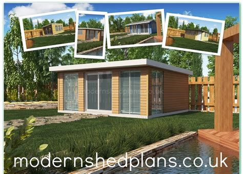 Shed Plans Uk by Modern Shed Plans Build Your Own Modern Shed From Our