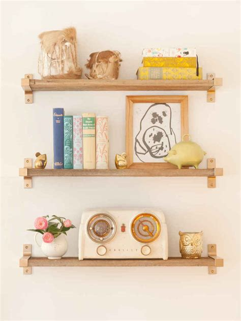 ikea hack shelves 10 times gold spray paint made ikea products even better