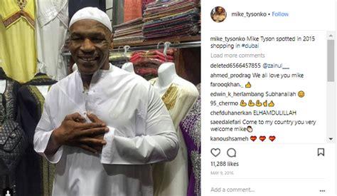 bio instagram muslim mike tyson biography wbc wife married won olympic