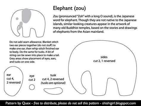 free pattern felt elephant pin by bethany harmon on nursery ideas pinterest
