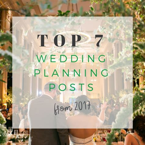 Top 7 Wedding Planning Posts of 2017   Mango Muse Events