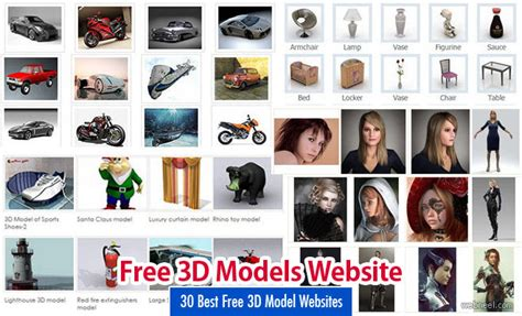 read site 30 best free 3d model websites around the web free 3d
