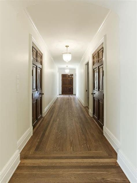 wood doors must have matching wood frames mouldings stains light walls and white doors