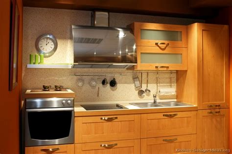 Light Wood Cabinets Kitchen Pictures Of Kitchens Modern Light Wood Kitchen Cabinets Kitchen 5