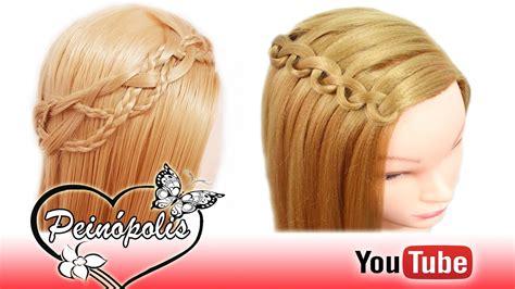 semirecogidos faciles para hacer en casa 2 peinados semirecogidos con trenzas para cabello corto y