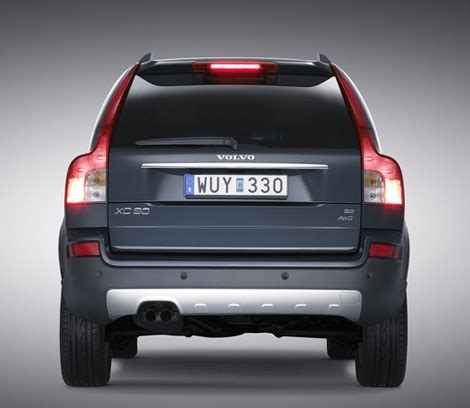 volvo xc90 new style new volvo xc90 more style refinement and desirability