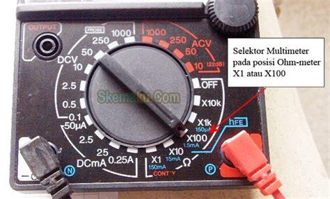 Multimeter Digital Dan Analog cara mengukur dioda dengan multimeter analog dan digital