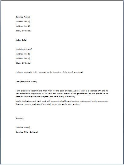 Scholarship Endorsement Letter Endorsement Letter Sle Crna Cover Letter