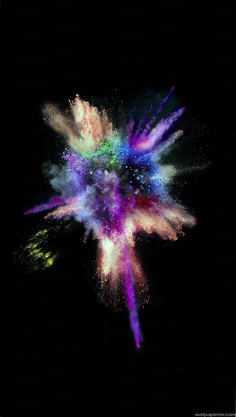 wallpaper hd iphone 6 ios 9 ios9 colorful explosion smoke dark iphone 6 iphone 6 plus