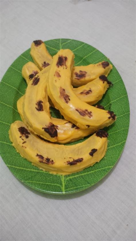 Cetakan Banana Cotton Cake Ny Liem banana cotton cake by dyah ummu azzam lafemmepatisserie
