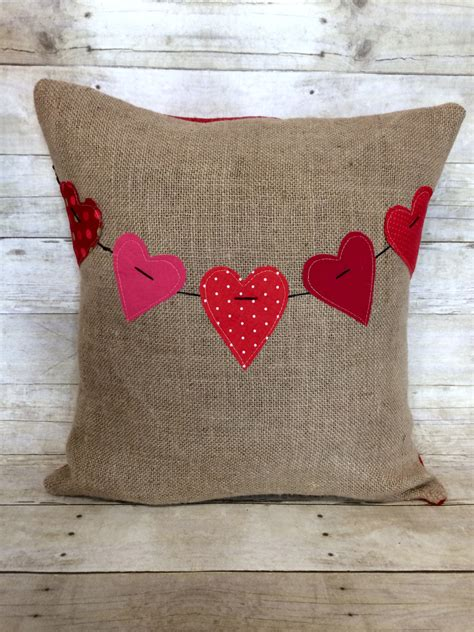 20 charming handmade s day pillow designs