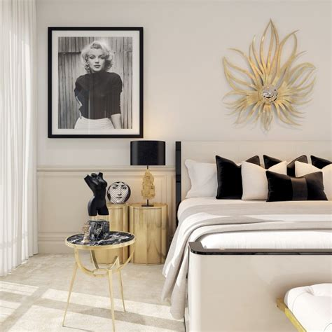 Modern Deco Bedroom a modern deco home visualized in two styles