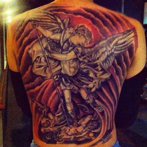 saint michael tattoo saint michael tattoo ideas