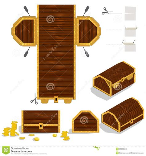Design Your Own Home Free 3d treasure chest packaging box design stock images image