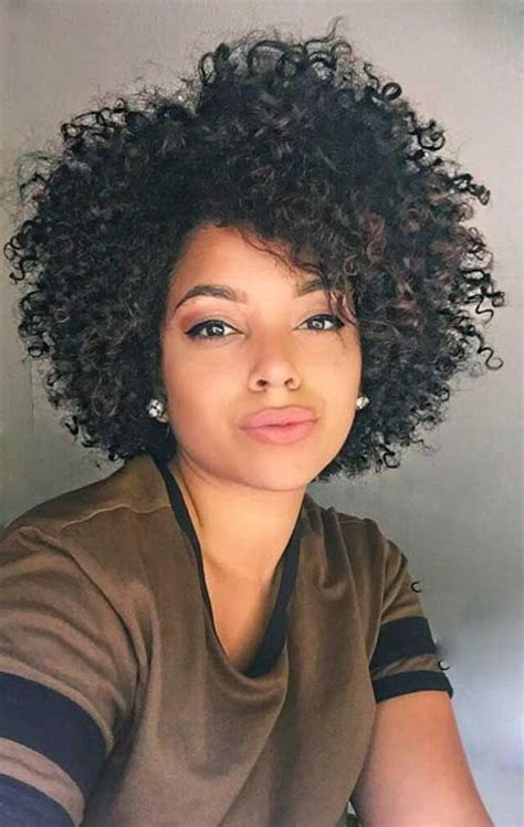 natural haircuts and styles 2018 latest naturally curly short haircuts