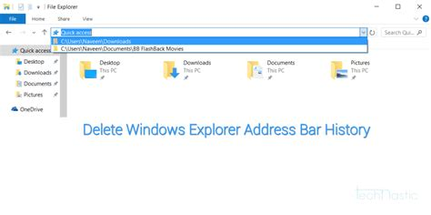 How To Delete Search History From Address Bar How To Delete Windows Explorer Address Bar History