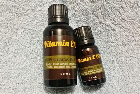 Pelembab Vitamin E jual vitamin e untuk rambut dan kulit 10ml