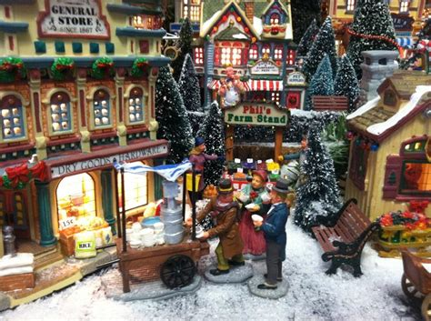 116 best christmas village images on pinterest
