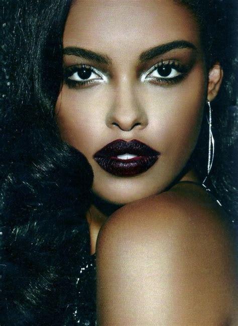 dark red lipstick for black women black fridays how to wear dark lipstick blushing black