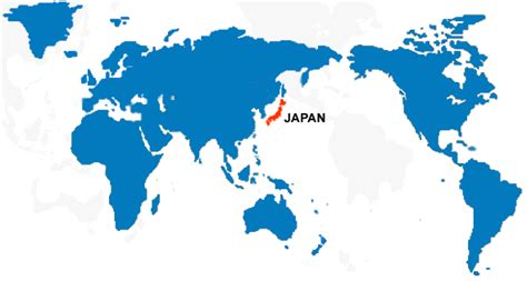 japan world map image japan on world map my