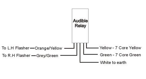 12v audible relay towing electrics at western towing