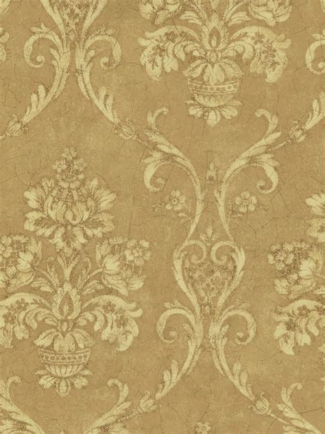 damask wallpaper pinterest interior place gold petite damask wallpaper 33 99