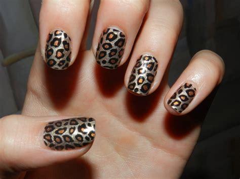 imagenes de uñas decoradas de leopardo 2015 la moda de hoy