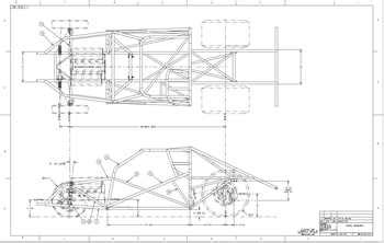 car frame and chassis blue prints pictures to pin on pinterest thepinsta chassis blueprints 67 69 camaro tube chassis blueprint