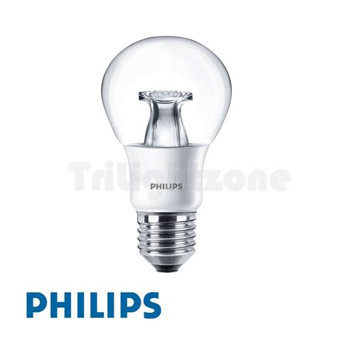 quot master clear bulb quot 6w led 40w e27 a60m bulb 22 2700k 黃光 dimmable可調光 紅綠燈燈飾開倉 trilight zone